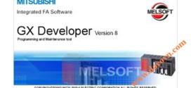 Phần mềm lập trình PLC Mitsubishi GX Deverloper Ver8