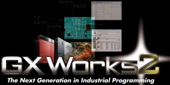 Phần mềm lập trình PLC Mitsubishi GX Works 2 - 64 Bit