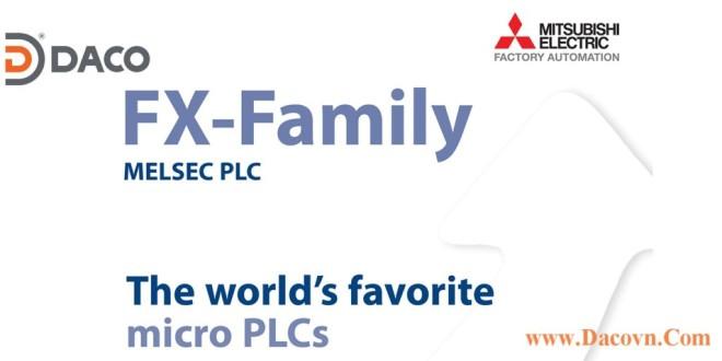 Tài liệu kỹ thuật Bộ điều khiển lập trình PLC Mitsubishi FX