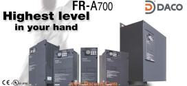 FR-A720-75K-90K Biến tần Mitsubishi 75kW, 90kW, 3 Pha 220 VAC: FR-A720