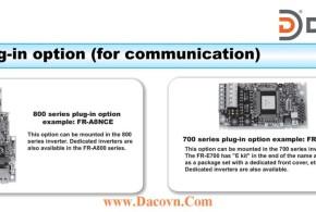 Module Card Truyền Thông Mở Rộng Biến Tần FR-700-800 Series: Module Card Truyền Thông
