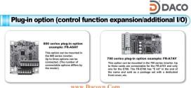 Module Card Chức Năng Mở Rộng Biến Tần FR-700-800 Series: Module Card Điều Khiển