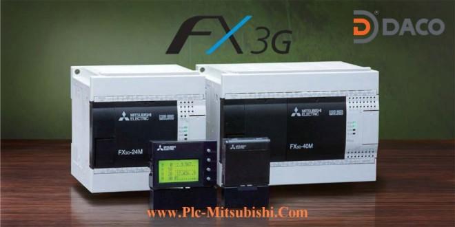 FX3G-24MR/MT Bộ Lập Trình PLC 24 Đầu I/O Mitsubishi