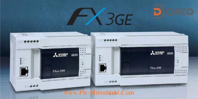 FX3GE-24MR/MT Bộ Lập Trình PLC 24 Đầu I/O Mitsubishi LAN Ethernet