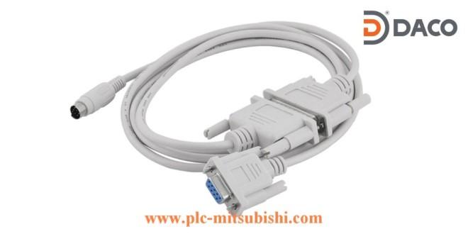 Cáp lập trình PLC Mitsubishi SC09-RS232 – Chuyển đổi RS422-RS232