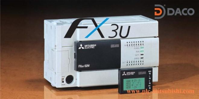 FX3U-80MR/MT Bộ Lập Trình PLC 80 Đầu I/O Mitsubishi