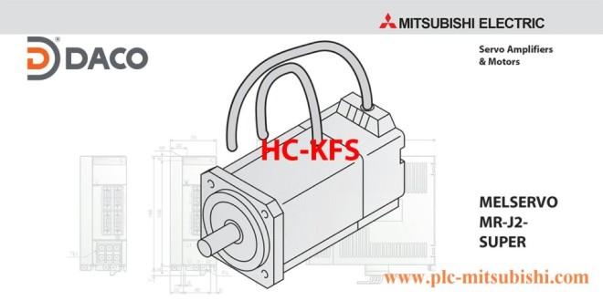 HC-KFS46 Động cơ Servo Motor Mitsubishi 400W, 6000 Vòng/phút