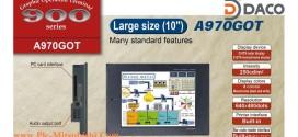 A970GOT-SB Màn hình cảm ứng HMI Mitsubishi 10 Inch, STN 8 Màu