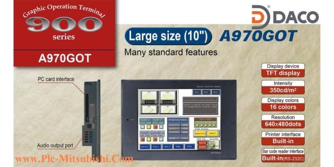 A970GOT-TB Màn hình cảm ứng HMI Mitsubishi 10 Inch, TFT 16 Màu
