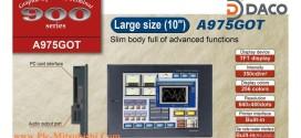 A975GOT-TB Màn hình cảm ứng HMI Mitsubishi 10 Inch, TFT 256 Màu