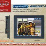 A985GOT-V man hinh cam ung HMI Mitsubishi 12 Inch